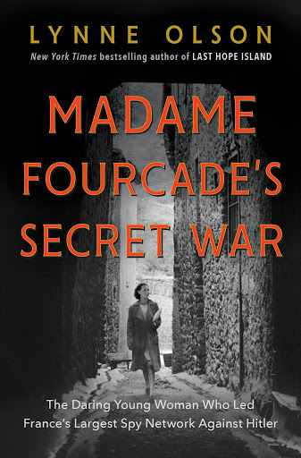 The cover shows a woman in 1940's-era clothing, carrying a package under her arm and walking down a deserted alley surrounded by stone walls.