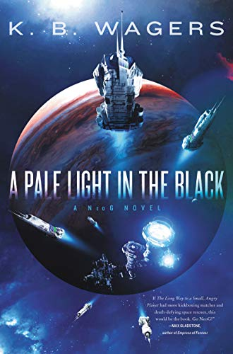 A blue cover with an image of Jupiter in the background features a flotilla of different spaceships framing the title across the middle of the image.
