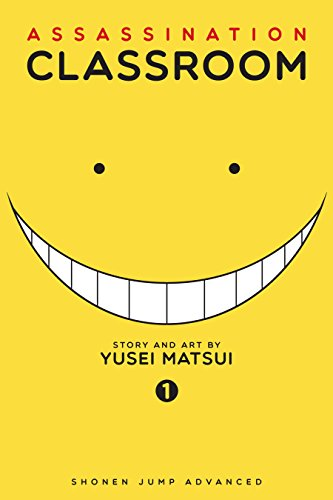 Bright yellow cover has a broad smile and two pinpoint black eyes under the title.