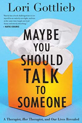 The cover shows a square, yellow tissue box with a white tissue coming out of the top of it, against a turquoise background with the title overlaid in black lettering.